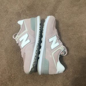 NB 574 Pink Shoes